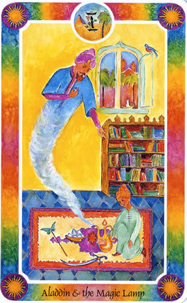 インナーチャイルドカードアラジンと魔法のランプ