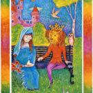 8. 美女と野獣(大アルカナ):インナーチャイルドカードの意味